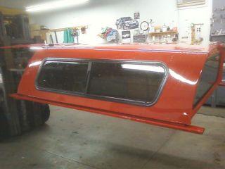 Jason Fiberglass Truck Cap Topper 07 and Later Chevy 6 5 Bed