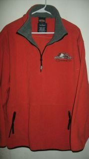 HARLEY DAVIDSON SCREAMIN EAGLE LOGO PULLOVER FLEECE JACKET SIZE EXTRA