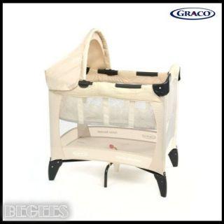 Box Graco Petite Bassinet Travel Cot in Bertie Fern from Birth
