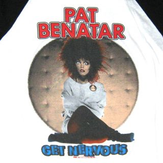Vintage Original Pat Benatar Concert Tour Shirt 1982 L