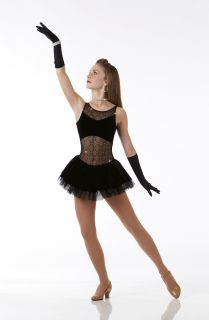 Teachers A GIRLS BEST FRIEND Dress w/Gloves HALLOWEEN Dance Costume