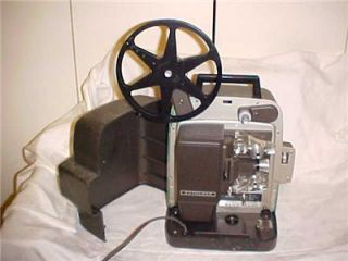 vintage bell howell super eight projector