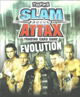 Topps WWE Slam Attax Evolution Raw Trading Card See Cards Available