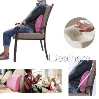 Lumbar Back Support Cushion Pillow Home Office Car Seat Chair