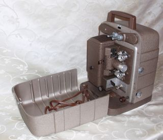 WORKING BELL & HOWELL 8MM PROJECTOR MODEL # 253RV