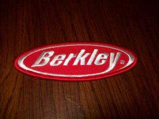 Berkley Fishing Lure Patch Put on Hat Vest Jacket