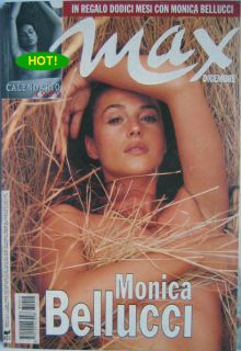 Max 98 Monica Bellucci Cristina Ricci Jeff Goldblum Adriana Lima R