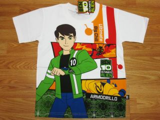 Ben 10 Ultimate Alien Cotton T Shirt 743 Big Chill Size M age 6 8