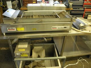 BELSHAW DONUT ROBOT MARK VI PRODUCTION SYSTEM FRYER COMPLETE 208 VOLTS