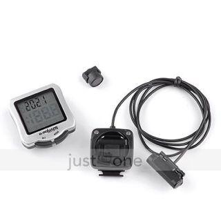 Wireless LCD Bike Bicycle Computer Odometer Speedometer