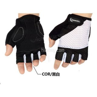 Cycling Bike Bicycle Outdoor Sports Antiskid Half Finger Gloves