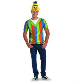 Sesame Street Bert T Shirt Headpiece Costume Set Adult x Large XX