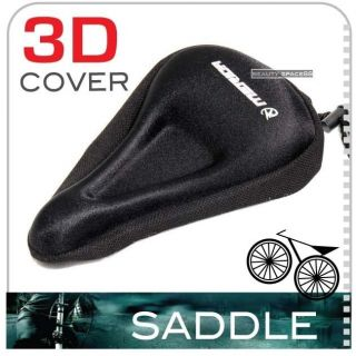 Pro Comfort Bike Bicycle Soft Gel Saddle Seat Cover Cushion