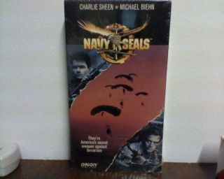 Navy Seals (VHS, 1991) Michael Biehn, Charlie Sheen, Bill Paxton