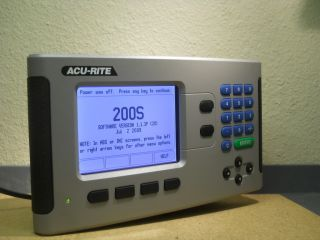 Acu Rite AcuRite DRO Digital Readout Counter 200S 2 Axis Milling