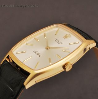 Mint Rolex Cellini 18K Solid Yellow Gold Manual Wind Swiss Original