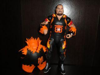 Mattel Legends Bam Bam Bigelow WWE Wrestling Figure