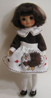 Tonner Doll Betsy McCall Thanksgiving Trunk Set