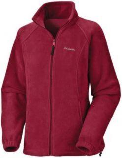 Columbia Misses Benton Spring Fleece Jacket Red 3X New