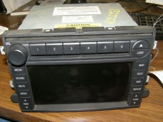 AM FM RADIO CD6 PLAYER NAVIGATION 2006 FORD EXPLORER 6L2T 18K931 BC