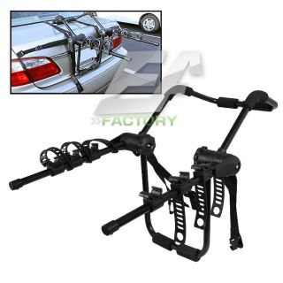 Bike Rear Trunk Mount Carrier Rack for Cars SUV Van Fits Most Bicycle