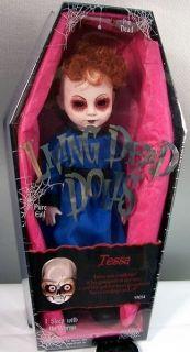 Living Dead Dolls Series 12 Tessa Doll Figure in Coffin MIB SEALED