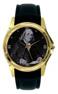 Benjamin Franklin Watch Ben Gold or Silver PRE02