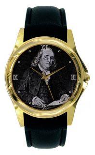 Benjamin Franklin Watch Ben Gold or Silver PRE02