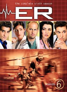 ER   The Complete Sixth Season DVD, 2006, 6 Disc Set