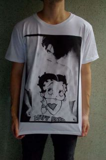 The Cure Robert Smith Betty Boop Indie Rock T Shirt M
