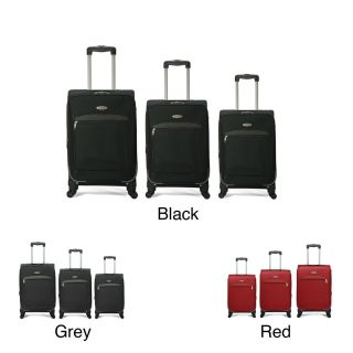 Benzi 3 piece Expandable 4 wheel Multidirectional Spinner Luggage Set