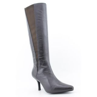 Sanzia Bianca Womens Size 11 Brown Leather Fashion Knee High Boots