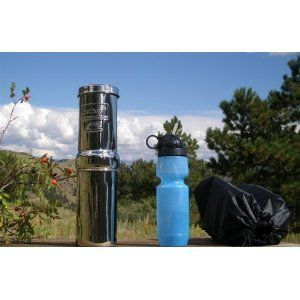 Go Berkey Kit Portable Camping Travel Water Purifier + Free Para Cord