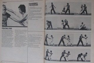 RARE 11 79 Inside Kung Fu Bruce Lee Joe Lewis Black Belt Karate
