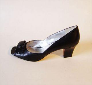 Tahari BERNIE Ladies Black Patent Leather Pump Shoes Size 10M