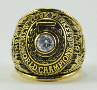 New York Yankees Championship World Series Ring Mantle Berra