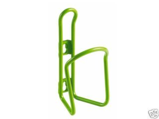 Bicycle Waterbottle Cage 6mm Lime Green Aluminum Cage