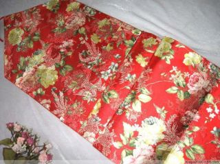 Fashion 3pcs Chinese New Style Handmade Silk Sation Table Runner