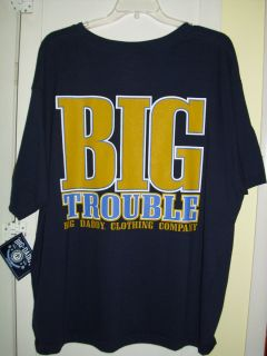 Big Daddy Clothing Co Mens T Shirt Size 2XL Blue