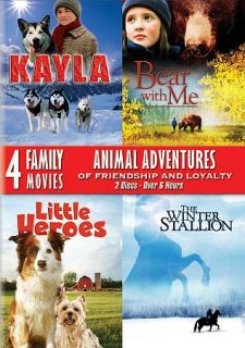 Animal Adventures of Friendship and Loyalty DVD, 2011, 2 Disc Set