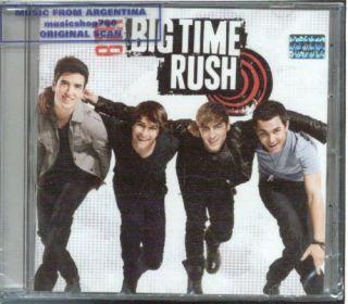 Big Time Rush BTR 5 Bonus Tracks Soundtrak CD New