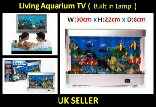 Aquarium Moving Lights Motion Fish Tank TV Quality Lamp Artificial New
