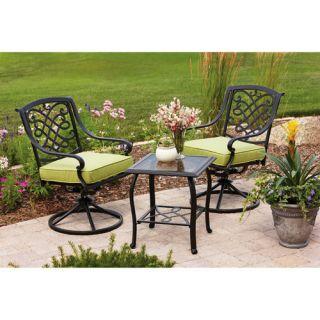 Better Homes & Gardens Furniture Hillcrest 3 Piece Outdoor Patio