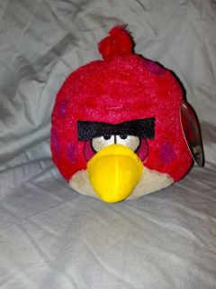 Angry Birds 5 Plush Red Bird Big Brother
