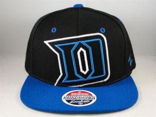 NCAA Duke Blue Devils Zephyr Xray Flat Bill Snapback Hat Cap