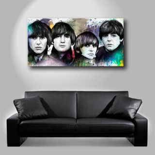 Beatles John Lennon Paul McCartney Painting Canvas Art Giclee Print B
