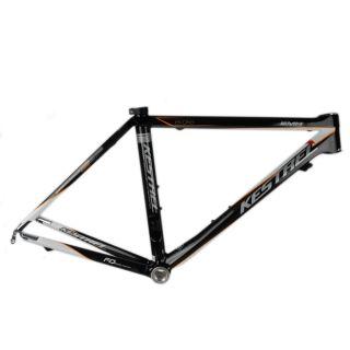 Kestrel Evoke Carbon Road Bike Frame 50cm Orange White Black Silver