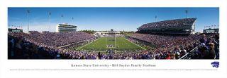 Kansas State Wildcats Football Panoramic Poster Print