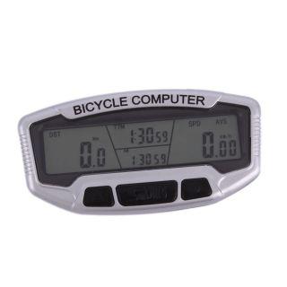 New Waterproof Bicycle Bike Cycling Computer LCD Odometer Speedometer