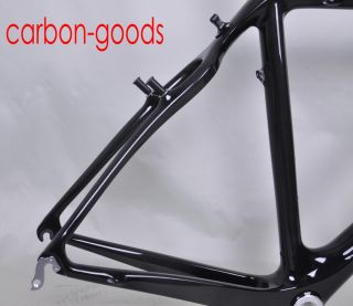 2012 New Cyclocross ISP Bicycle Frames Full Carbon Frameset Cantilever